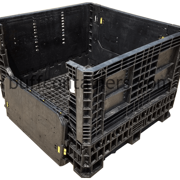 HEAVY DUTY KNOCKDOWN CONTAINER 48X45X34″