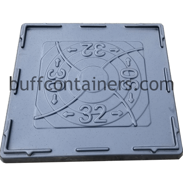 """Universal Plastic Container Lid 32"""" x 30"""""""