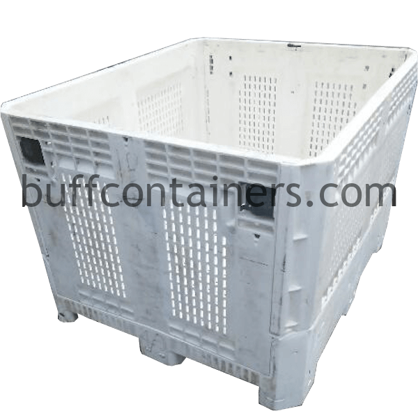 "Vented Plastic Storage Bin 484030"""